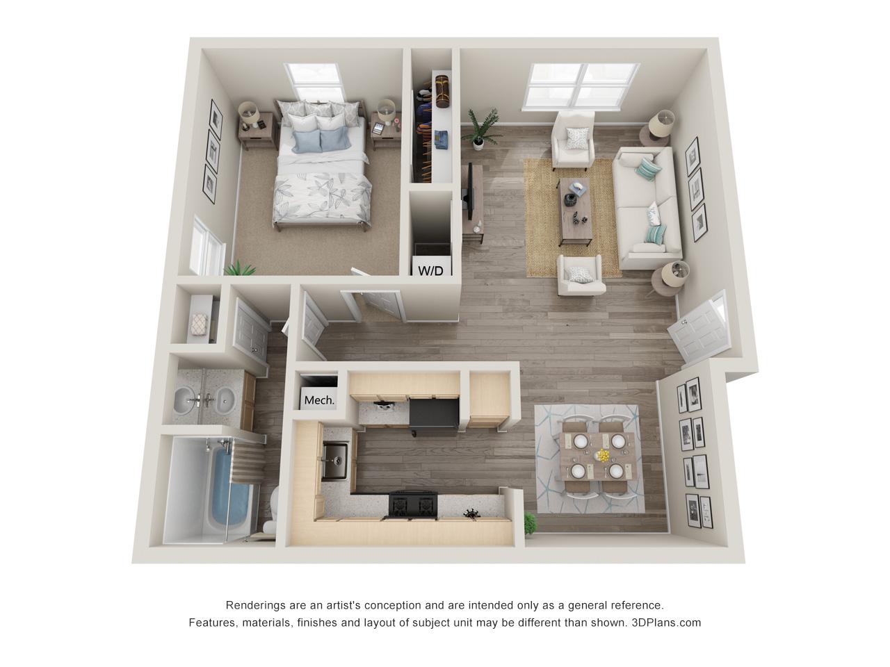 Vesta Camp Creek | 1, 2, & 3-bedroom apartments in Atlanta ...